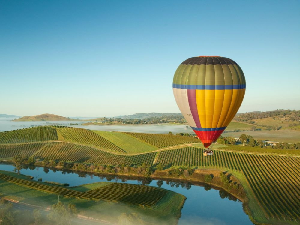 Travel Yarra Valley Hot Balloon - Best Solo Getaways:一趟犒赏心灵之旅