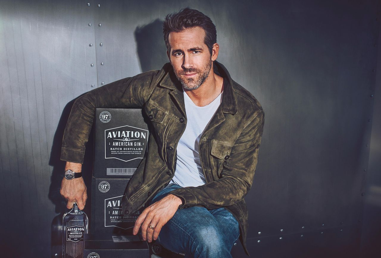 Aviation american gin ryan reynolds pic - Ryan Reynolds喝一口就爱上的琴酒:Aviation Gin