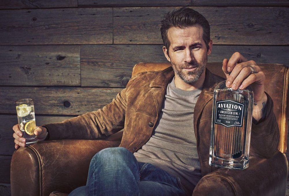Aviation american gin ryan reynolds - Ryan Reynolds喝一口就爱上的琴酒:Aviation Gin