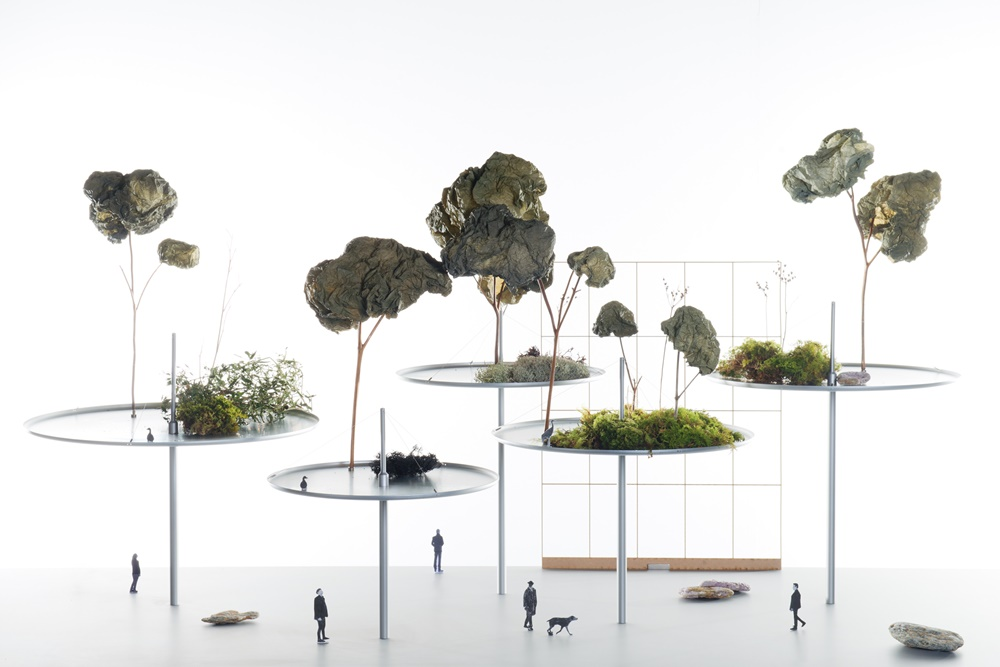 HKDI Exhibit  Bouroullec Hanging Forest - HKDI Gallery 香港大型艺术文化展