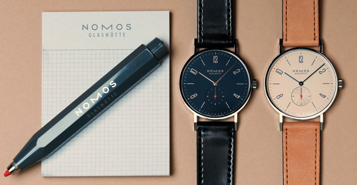NOMOS GLASHUTTE The Hour Glass Feature - NOMOS Glashütte 推出限量版 Tangente Red Dot 腕表