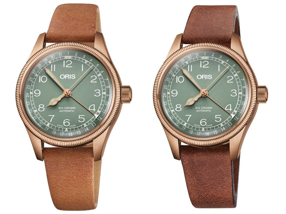 Oris Big Crown Pointer Date Bronze 36mm Leather Strap - Oris Big Crown Pointer Date 邀你进入青铜年代
