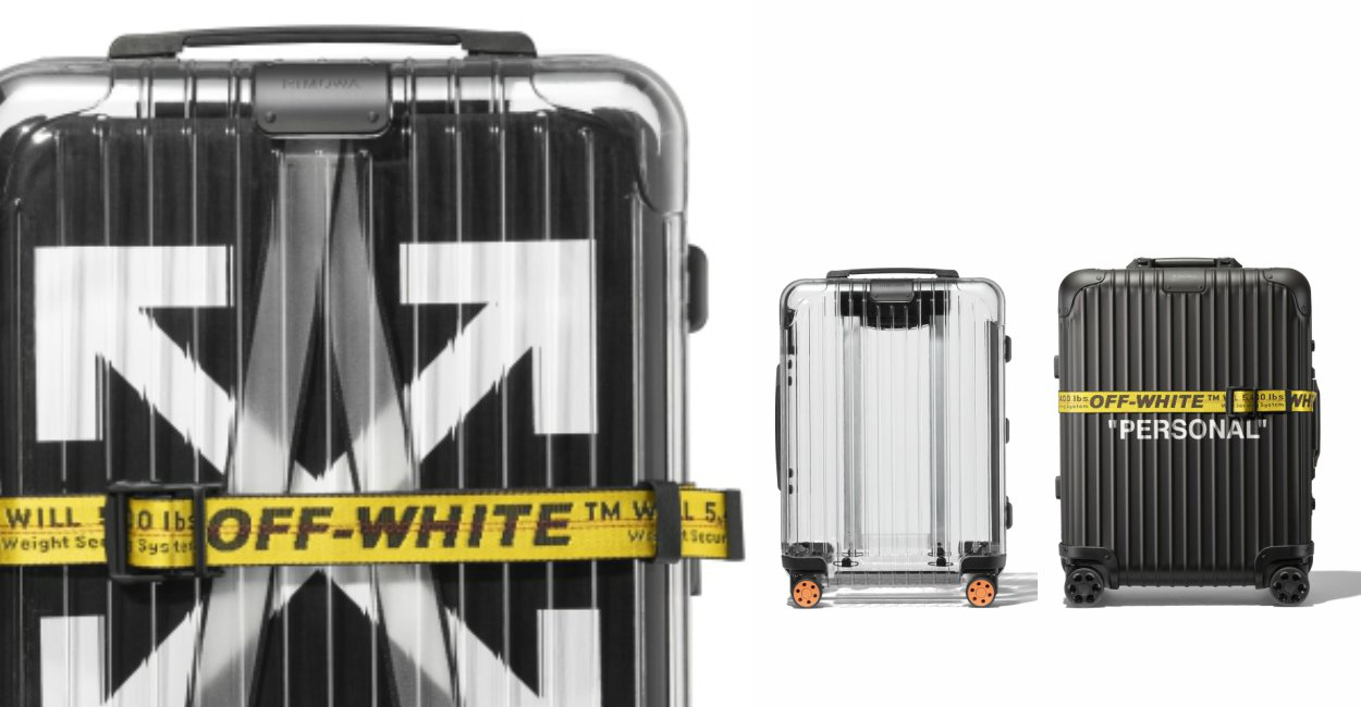 """Rimowa Off White Luggage Limited Edition Feature - 德国旅游大牌 RIMOWA x Off-White 联手推出""""透视行李箱"""""""