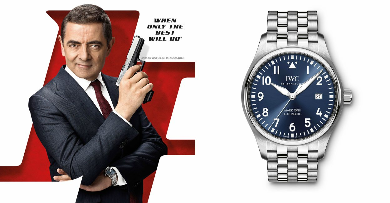 Rowan Atkinson Johnny English IWC Le Petit Feature  - 特工Johnny English的最佳拍档,IWC Mark XVIII Le Petit Prince