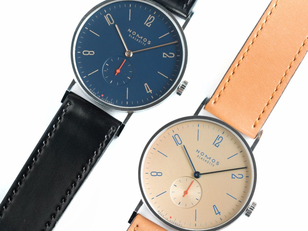 The Hour Glass NOMOS GLASHUTTE Watches - NOMOS Glashütte 推出限量版 Tangente Red Dot 腕表