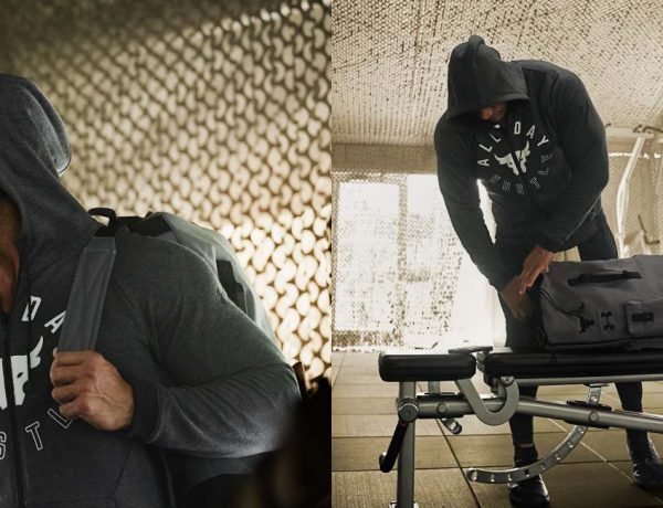 """Under Armour Project Rock 1 All day Hustle with The Rock FEATURE 600x460 - Under Armour Project Rock 1 """"All Day Hustle"""" 全心投入的精神"""
