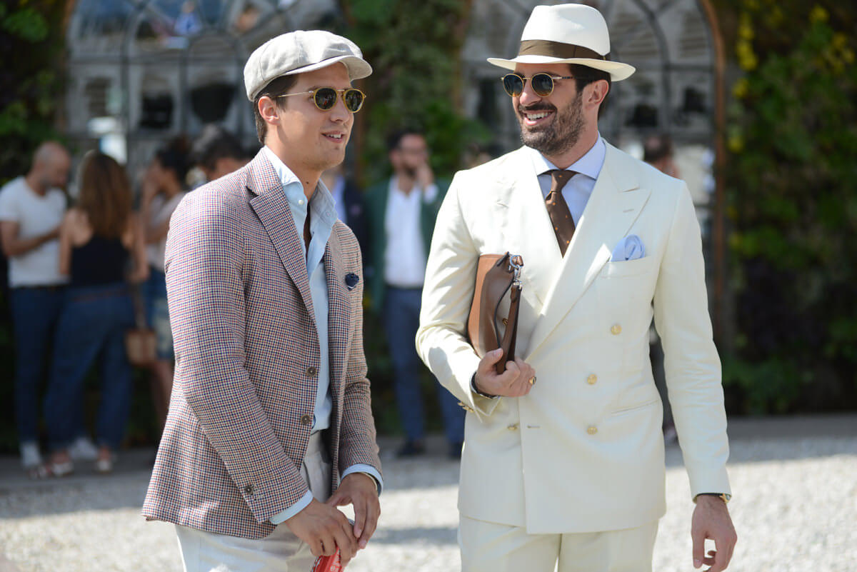 mens white suit - 浅色西装的别样绅士魅力