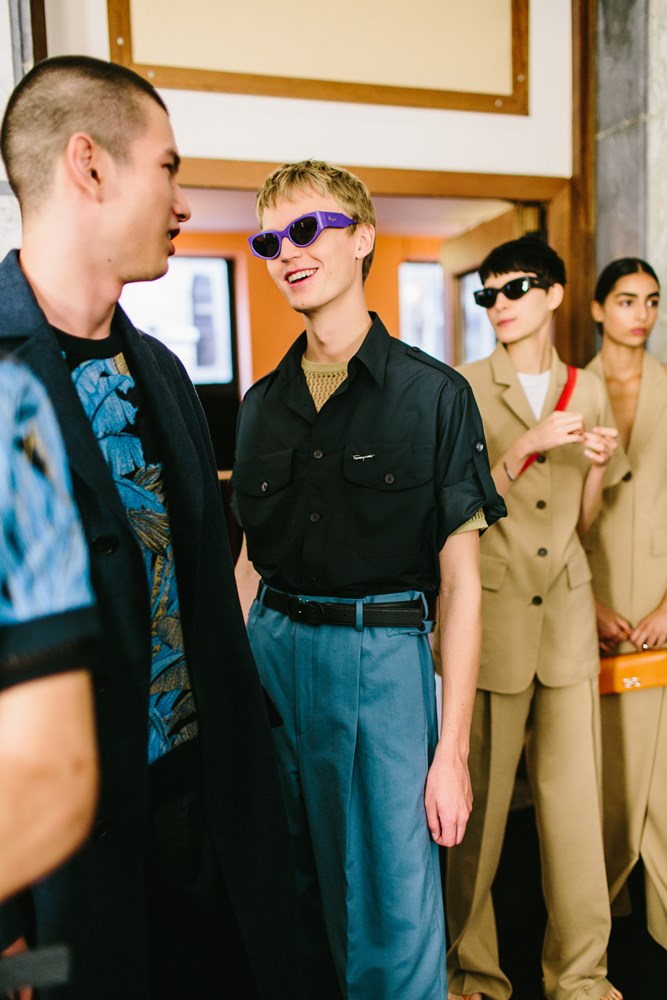 salvatore ferragamo spring summer 2019 mens fashion backstage - Salvatore Ferragamo 春夏'19 奢华的实用主义!