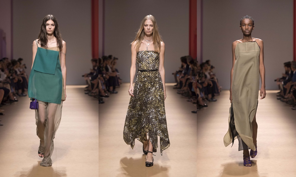 salvatore ferragamo spring summer 2019 women silk dress - Salvatore Ferragamo 春夏'19 奢华的实用主义!