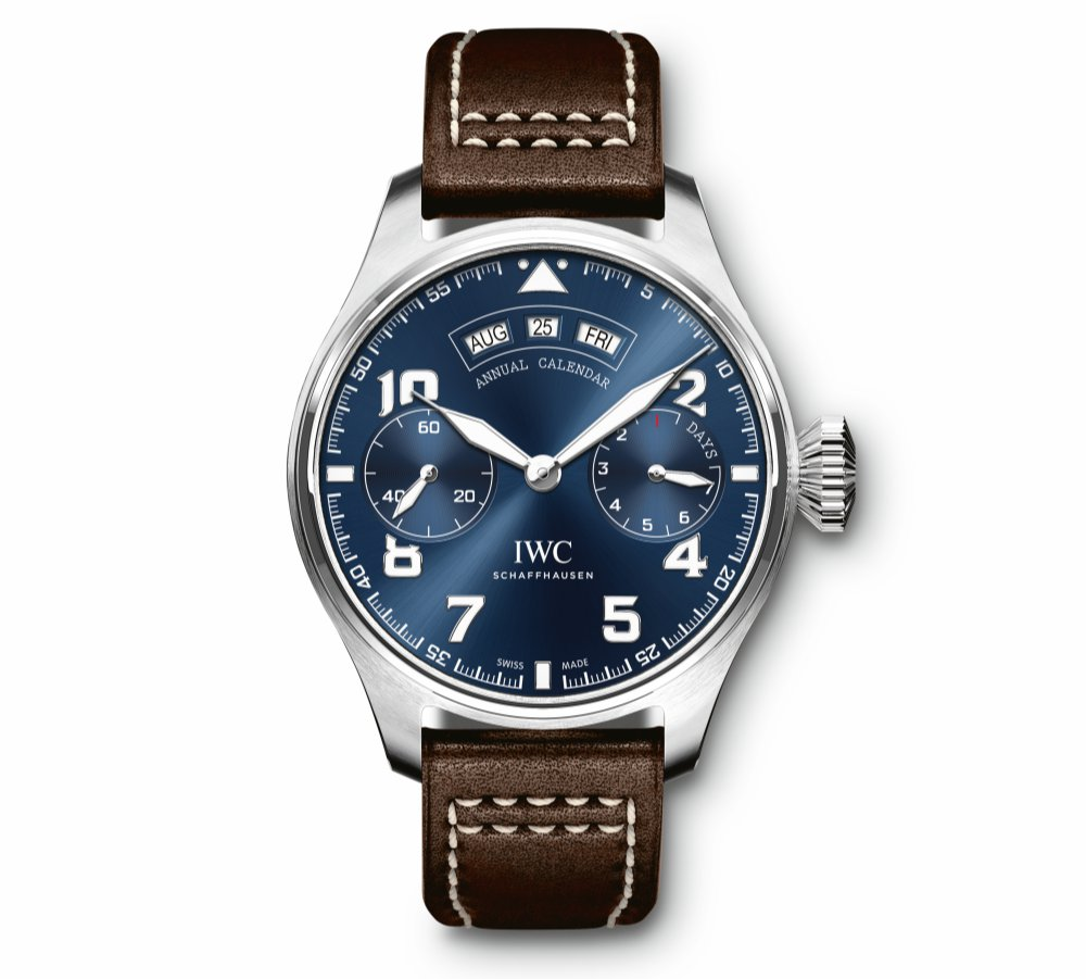 150 Years IWC Big Pilots Watch Annual Calendar Spitfire Le Petit Edition - IWC 飞常百年技艺:IWC Big Pilot's Watch 飞行员专属臻品