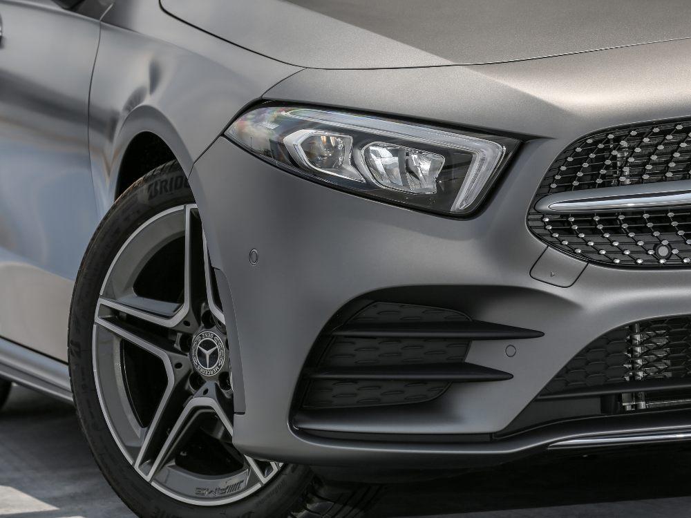 2nd Gen Mercedes Benz A Class front - 大改款 Mercedes-Benz A-Class 入门新宠儿