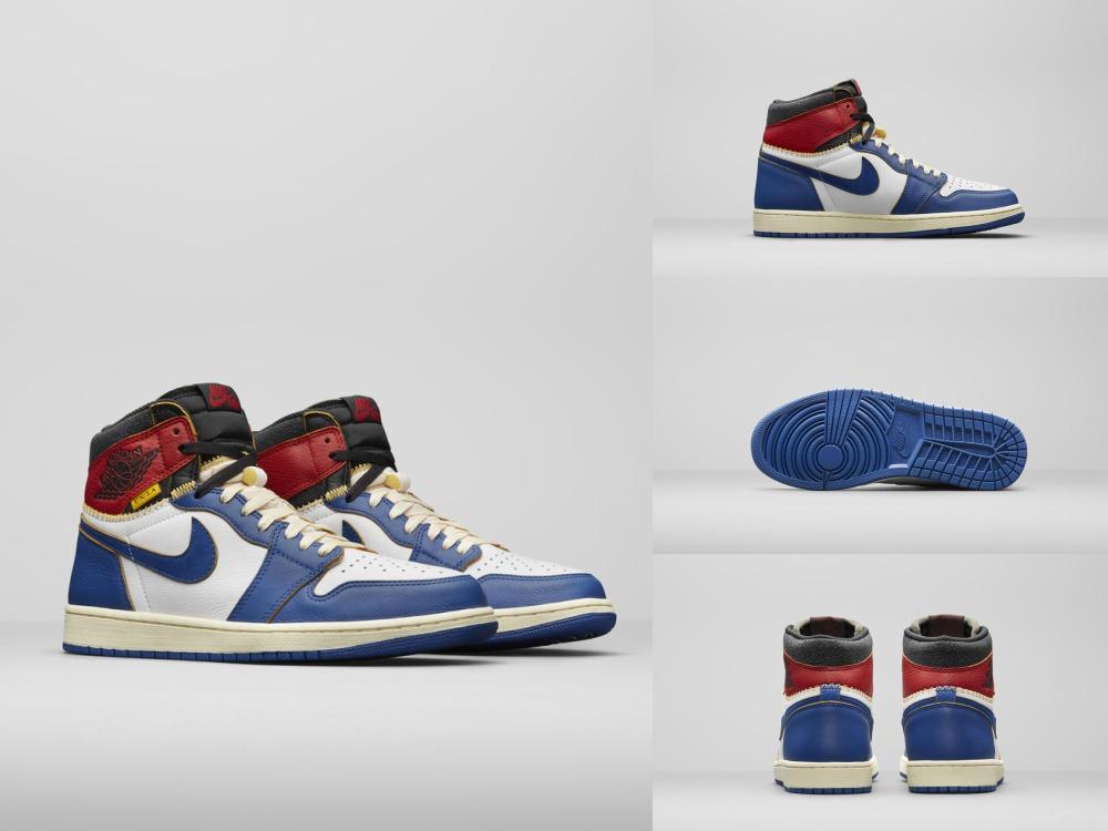 Air Jordan x Union Nike Collection - UNION LA x Air Jordan 1:史诗级联名再掀抢购热潮