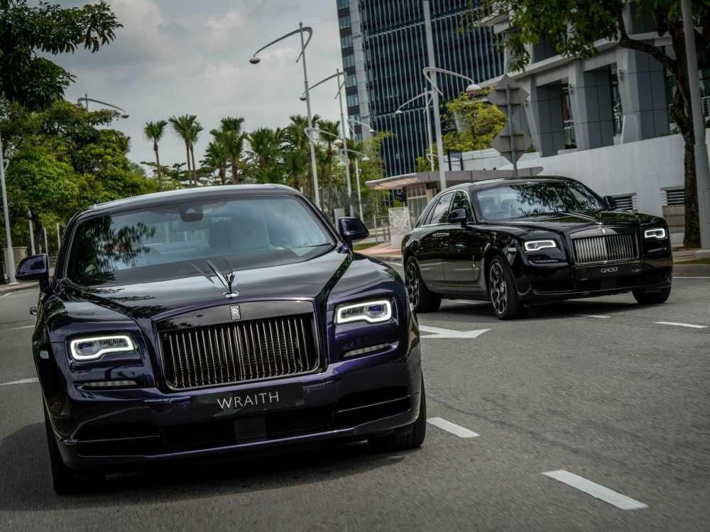Black Badge Rolls Royce Launches - 魅影三重奏:ROLLS ROYCE BLACK BADGE 首度大马亮相