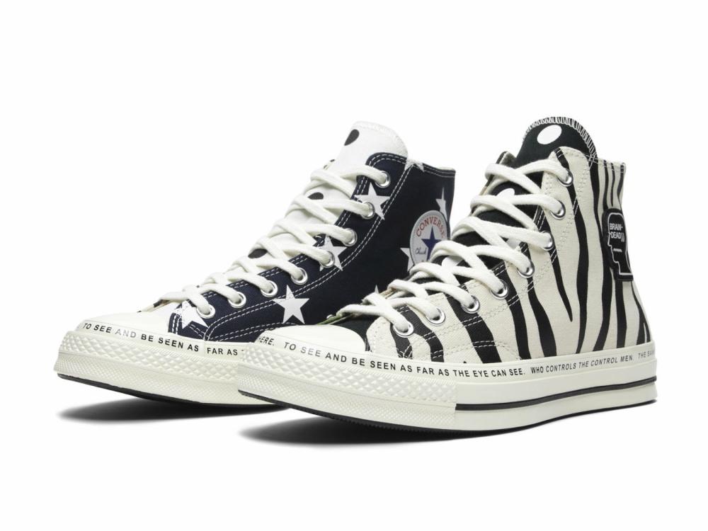 Brain Dead x Converse Sneakers 1 - 街头拼紋艺术:CONVERSE x Brain Dead 首度推出联名系列