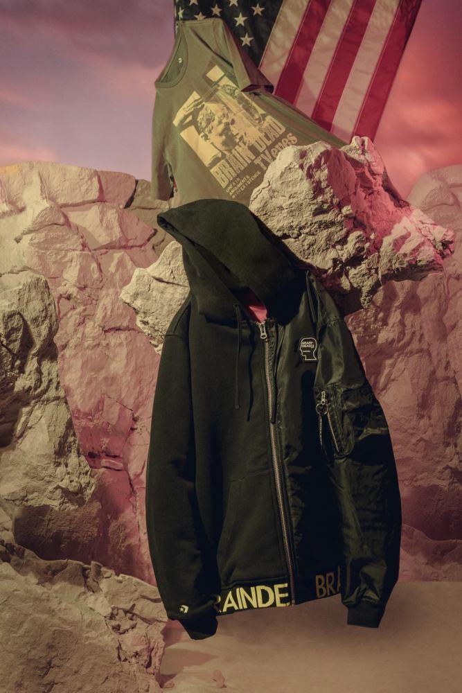 Braindead x Converse Jacket 1 - 街头拼紋艺术:CONVERSE x Brain Dead 首度推出联名系列