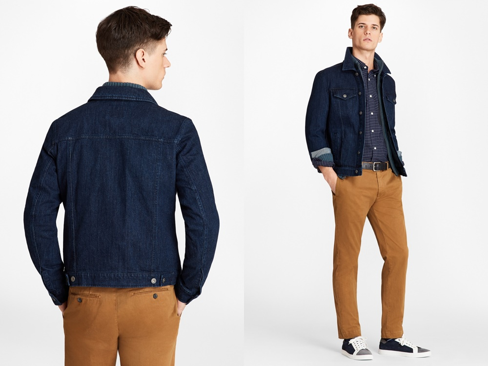 Brooks Brothers denim jacket - 秋冬精选:21款丹宁外套