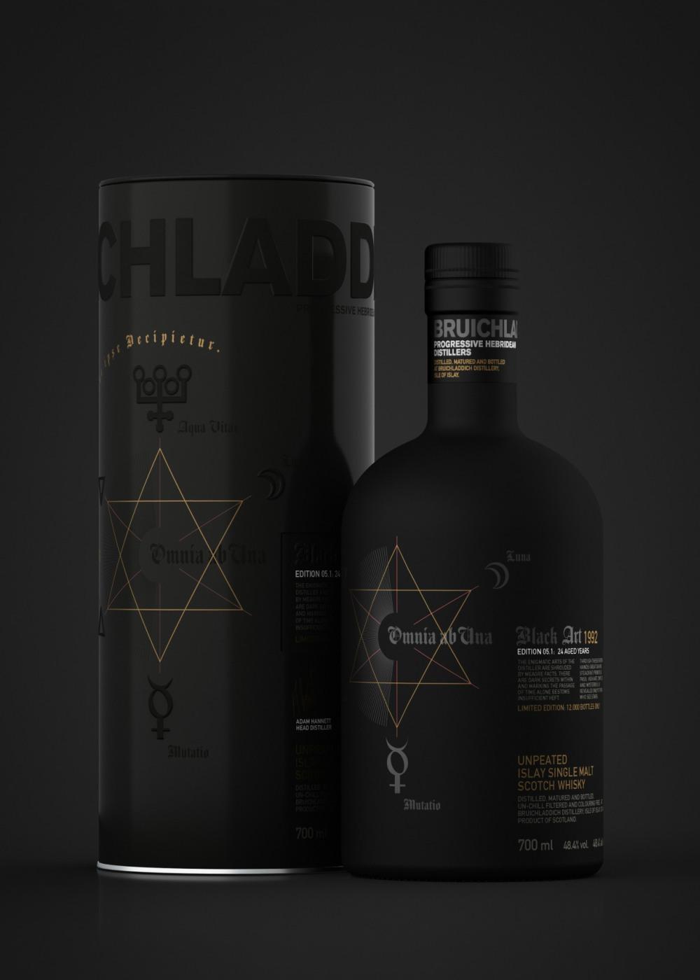 Bruichladdich Black Art 06.1 Scotch Whisky - Bruichladdich Black Art Edition 06.1:麦芽威士忌的神秘星图