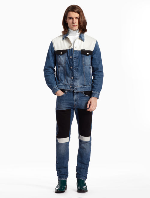 Calvin Klein modern classic trucker jacket RM1099 - 秋冬精选:21款丹宁外套