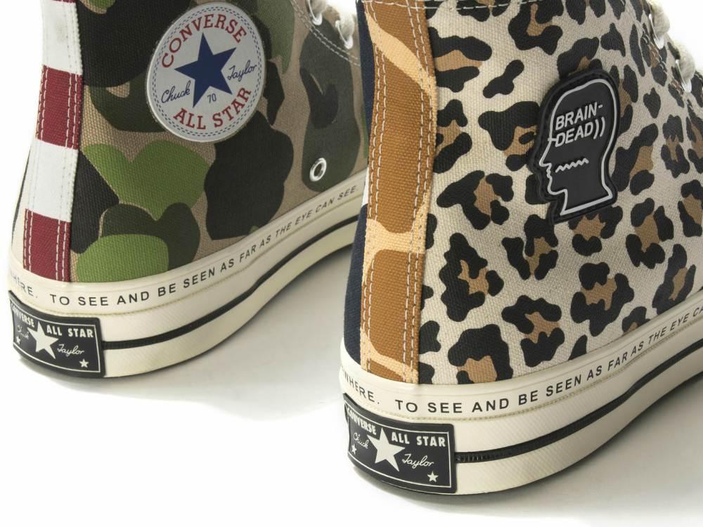 Converse Brain Dead Sneaker 1 - 街头拼紋艺术:CONVERSE x Brain Dead 首度推出联名系列
