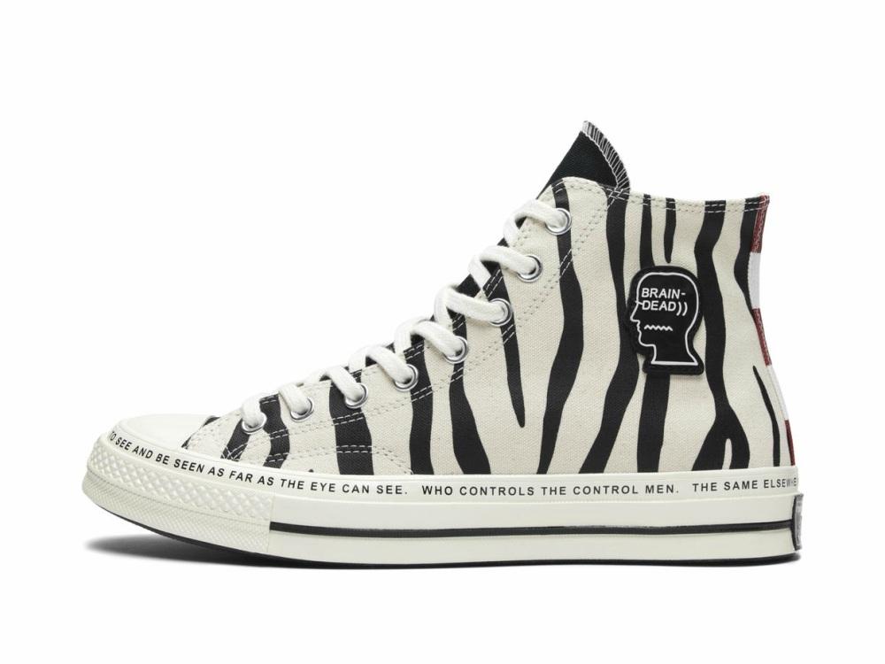 Converse x Brain Dead Sneaker 1 - 街头拼紋艺术:CONVERSE x Brain Dead 首度推出联名系列
