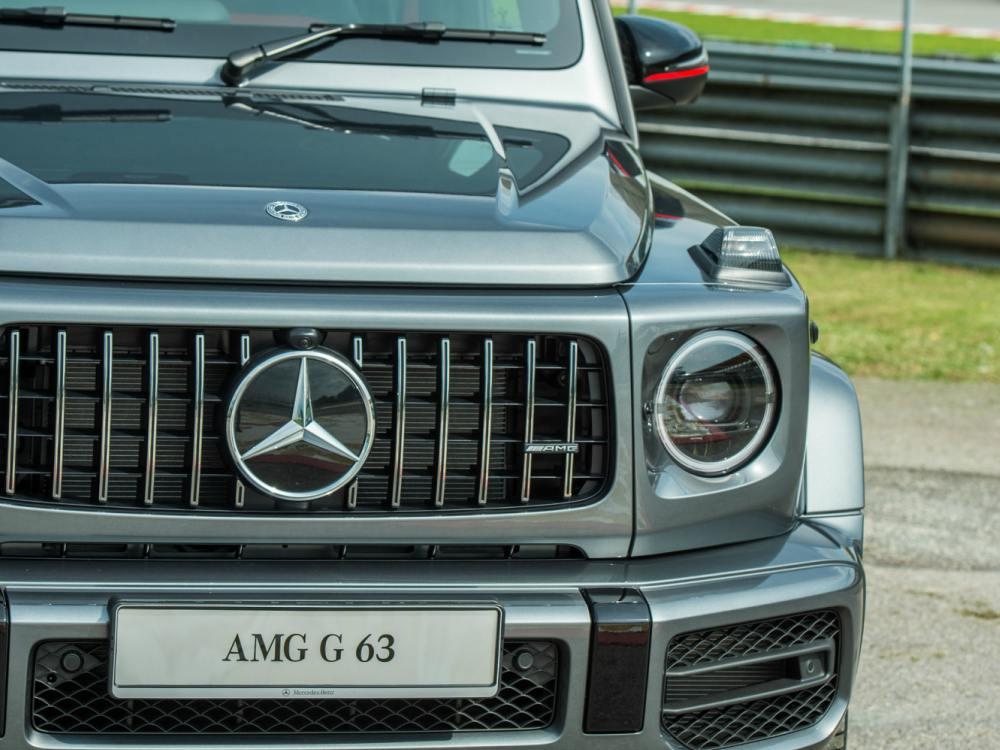 Exterior Front Mercedes Benz AMG G63 - 教父级的移动城堡:Mercedes-AMG G63