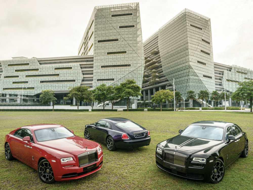 Exterior Rolls Royce Black Badge Collection Launches - 魅影三重奏:ROLLS ROYCE BLACK BADGE 首度大马亮相
