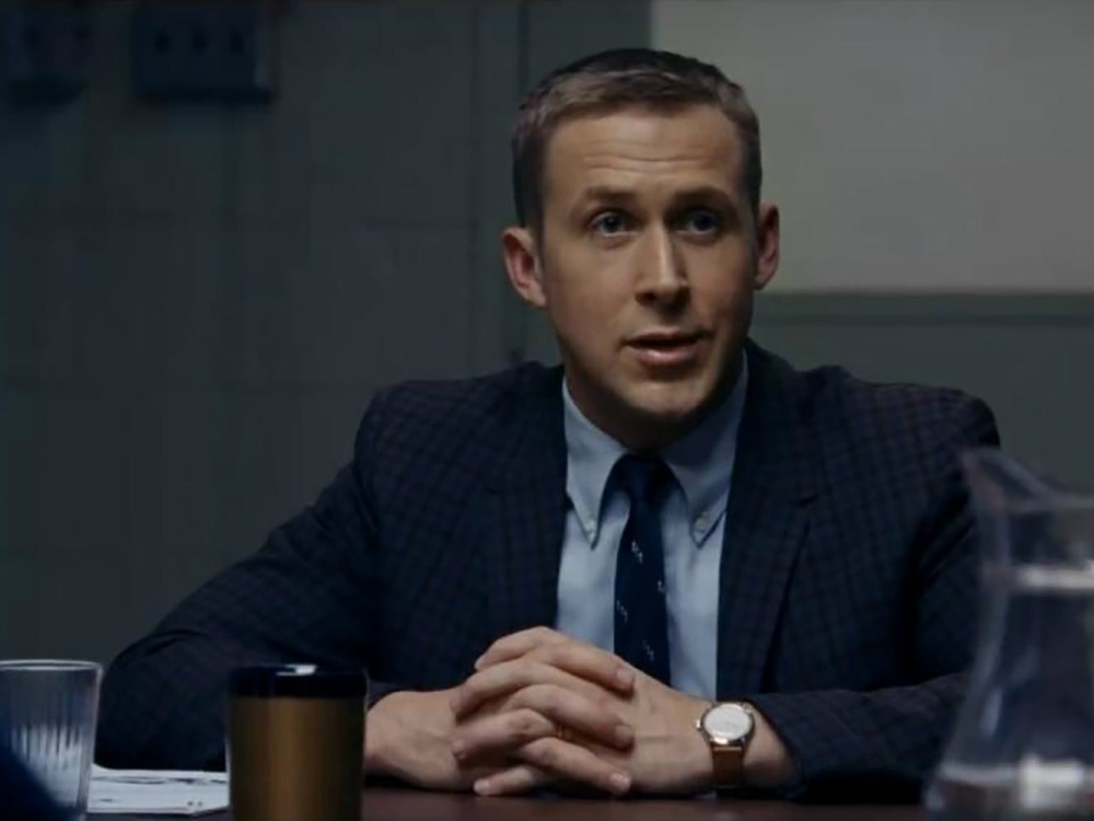 First Man Ryan Gosling Omega Watches - 看《登月第一人》,赏登月古董表:First Omega in Space