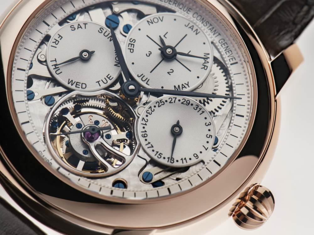 Frederique Constant Perpetual Calendar Tourbillion Dial - Frederique Constant Perpetual Calendar 推介30周年陀飞轮腕表