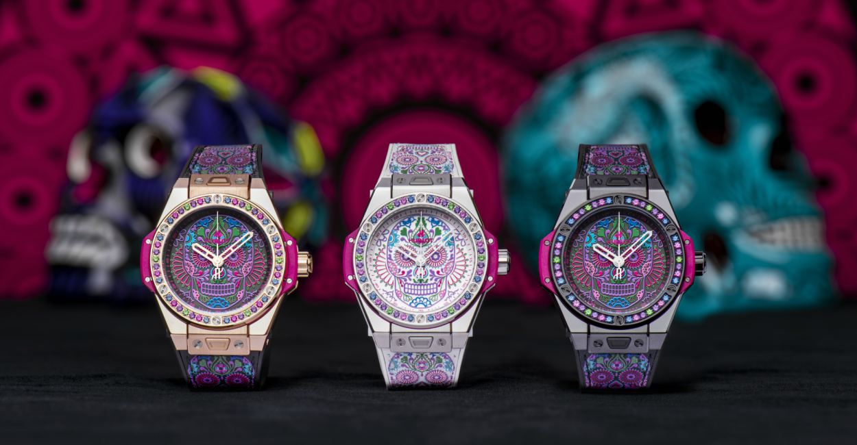 Hublot Big Bang One Click Calavera Catrina Siar Mexico Cover - 墨西哥骷髅的色彩印记:Hublot Big Bang 亡灵节限量表款
