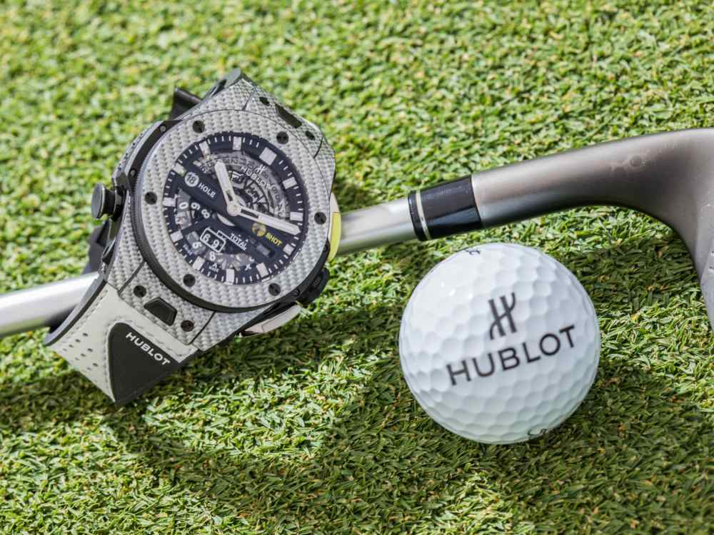 Hublot Big Bing Unico Golf Gifts for Sporty Men - Hublot Gifts for Sporty Men: 5款腕表赠送至爱的他