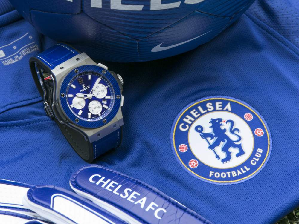 Hublot Gifts for Sporty Men Big Bang Chelsea FC - Hublot Gifts for Sporty Men: 5款腕表赠送至爱的他