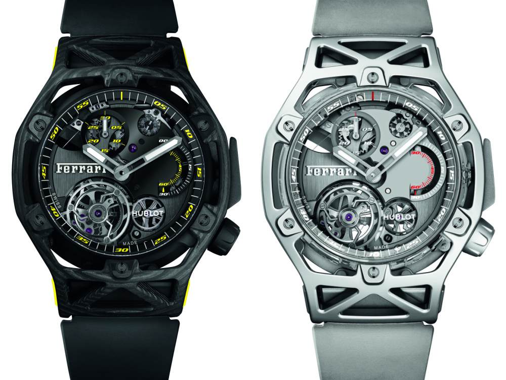 Hublot Gifts for Sporty Men Techframe Ferrari Tourbillion Chronograph - Hublot Gifts for Sporty Men: 5款腕表赠送至爱的他