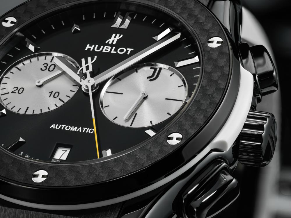 Hublot New Classic Fusion Chronograph Juventus Gifts for Sporty Men - Hublot Gifts for Sporty Men: 5款腕表赠送至爱的他