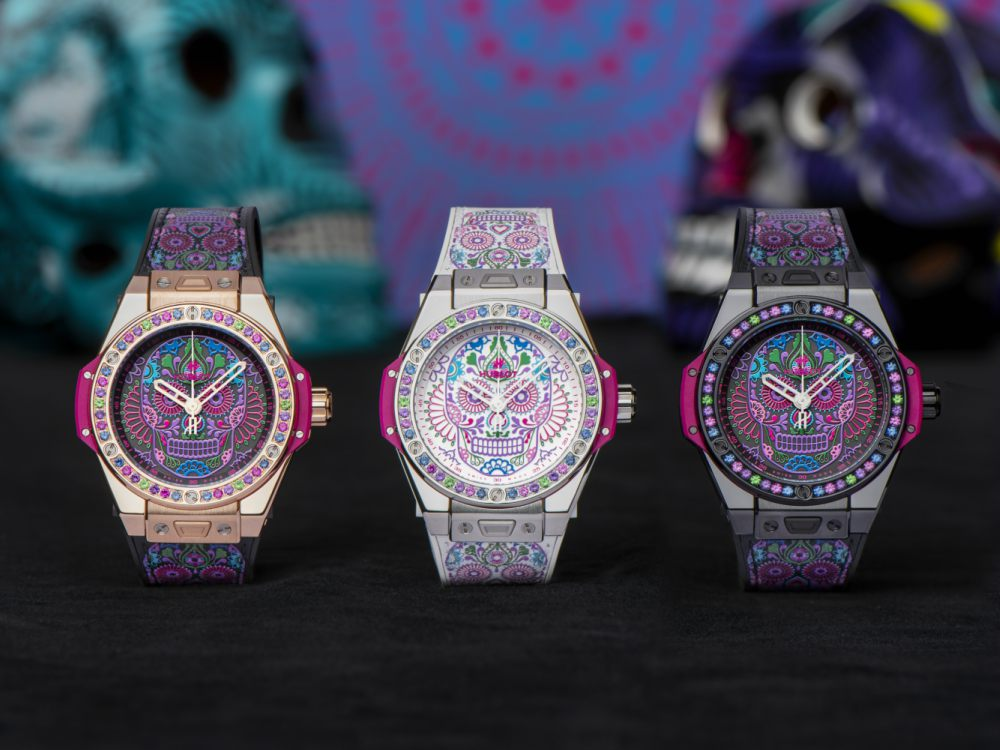 Hublot One Click Calavera Catrina Siar Mexico Watches - 墨西哥骷髅的色彩印记:Hublot Big Bang 亡灵节限量表款