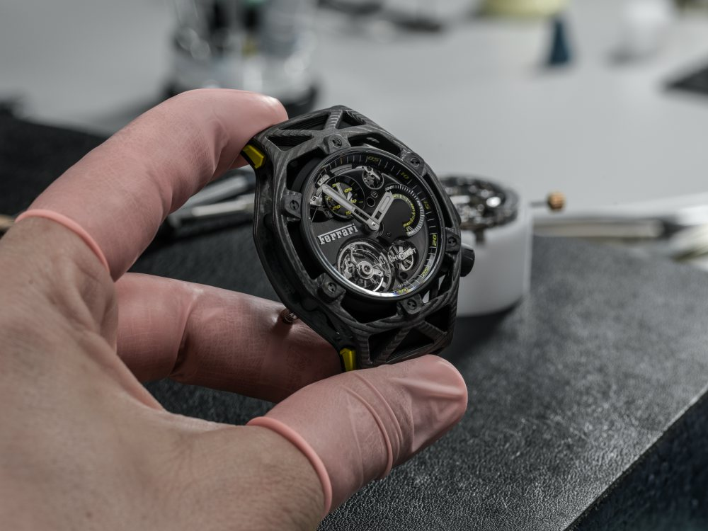 Hublot Techframe Ferrari Tourbillion Chronograph Gifts for Sporty Men - Hublot Gifts for Sporty Men: 5款腕表赠送至爱的他