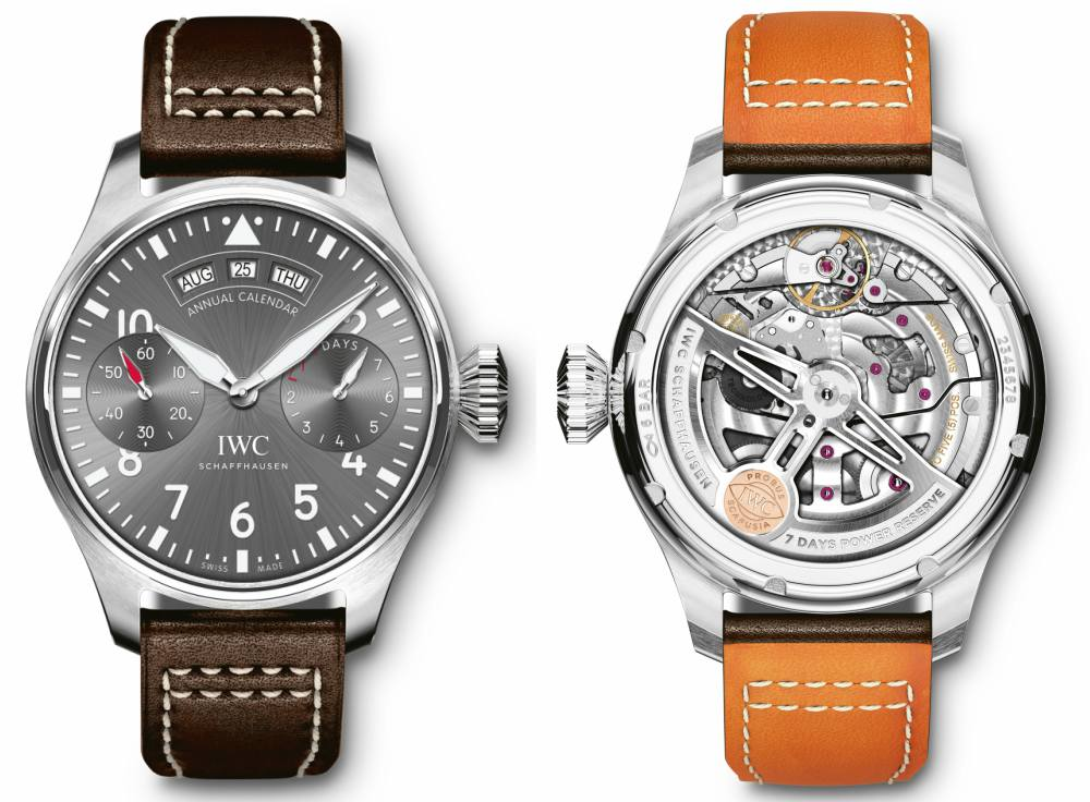 IWC Big Pilots Annual Calendar Spitfire Watch - IWC 飞常百年技艺:IWC Big Pilot's Watch 飞行员专属臻品