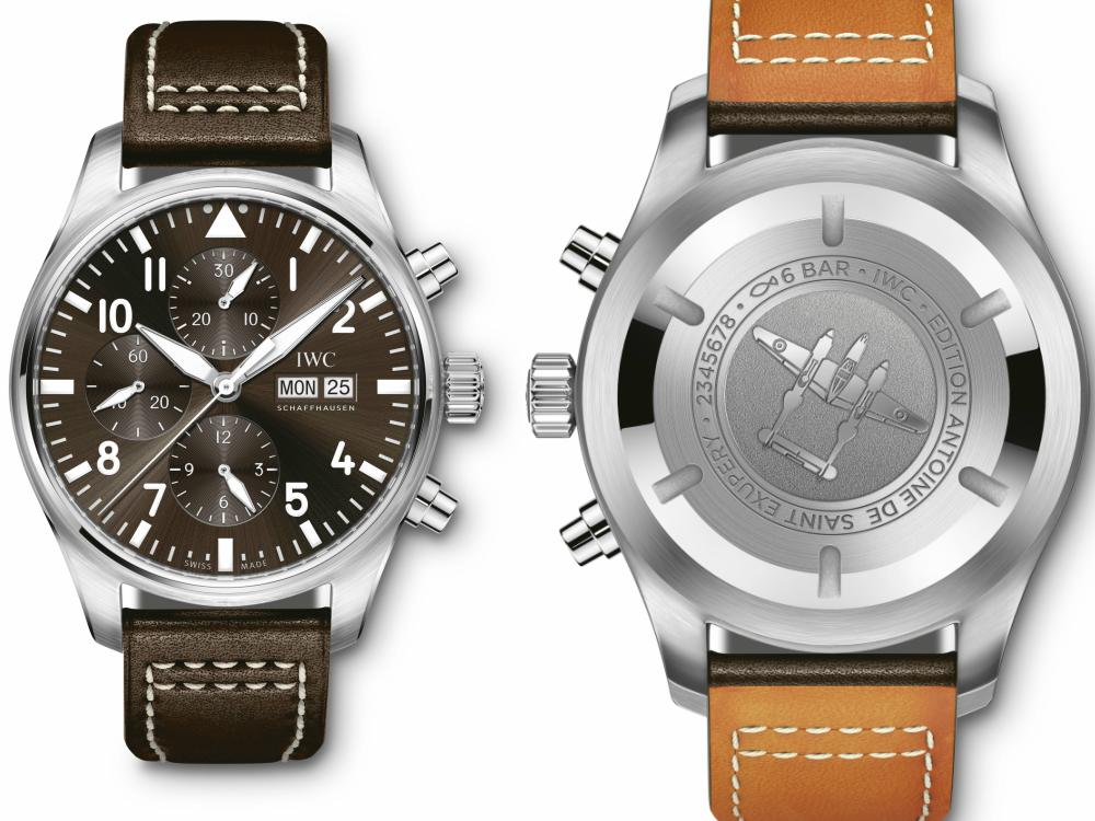 IWC Schaffhausen Pilots Antoine de Saint Exupéry Edition  Xmas Gifts - IWC X'mas Gifts for Him:极臻腕表 圣诞献礼