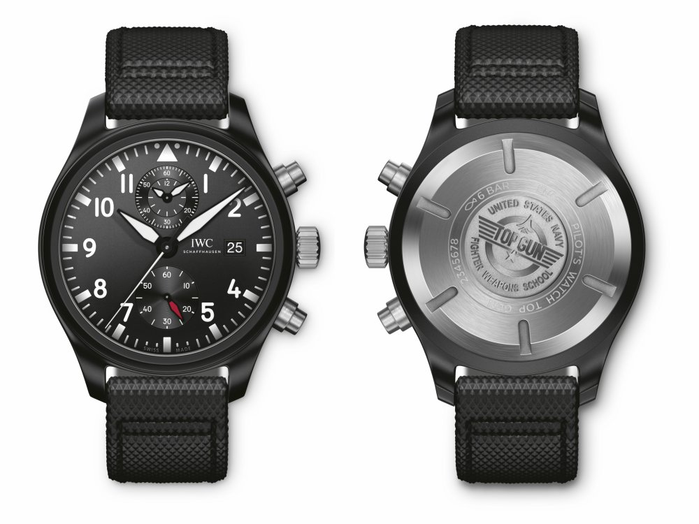 IWC Schaffhausen Pilots Watch Chronograph TOPGUN Xmas Gifts - IWC X'mas Gifts for Him:极臻腕表 圣诞献礼