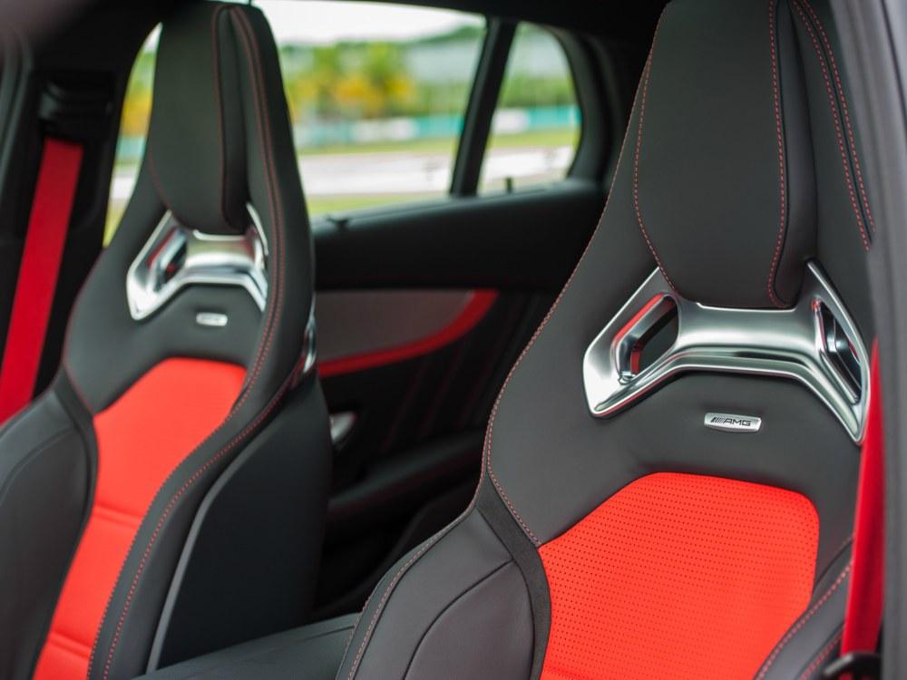 Interior Seats Mercedes Benz AMG GLC 63 - 教父级的移动城堡:Mercedes-AMG G63