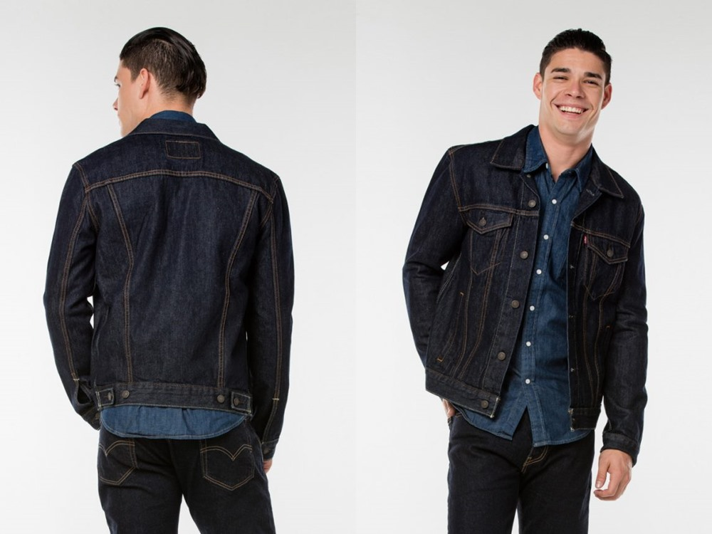 Levi's trucker jacket RM244.00 - 秋冬精选:21款丹宁外套