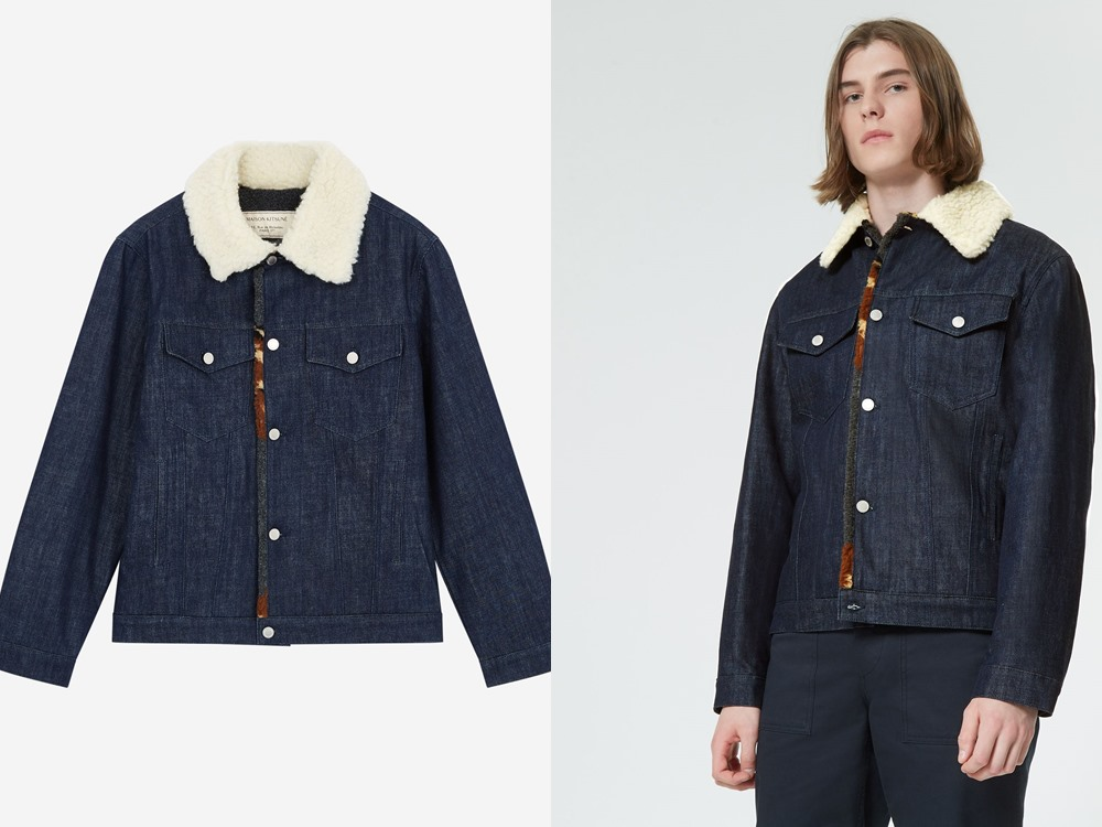 Maison Kitsune denim trucker jacket - 秋冬精选:21款丹宁外套