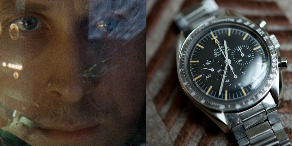 Omega Moonwatch Ryan Gosling First Man - 看《登月第一人》,赏登月古董表:First Omega in Space