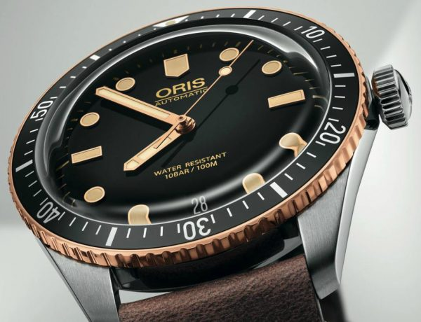 Oris Divers Sixty Five Cover 1 600x460 - A Touch of Bronze:ORIS Divers Sixty-Five 潜水腕表复古问世