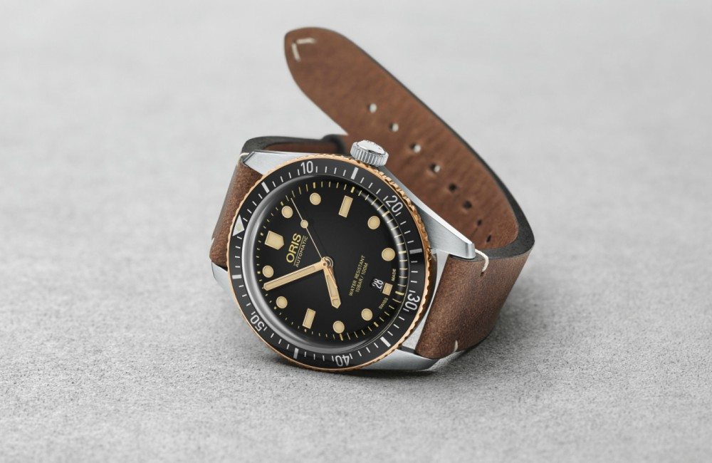 Oris Watches Oris Divers Sixty Five - A Touch of Bronze:ORIS Divers Sixty-Five 潜水腕表复古问世