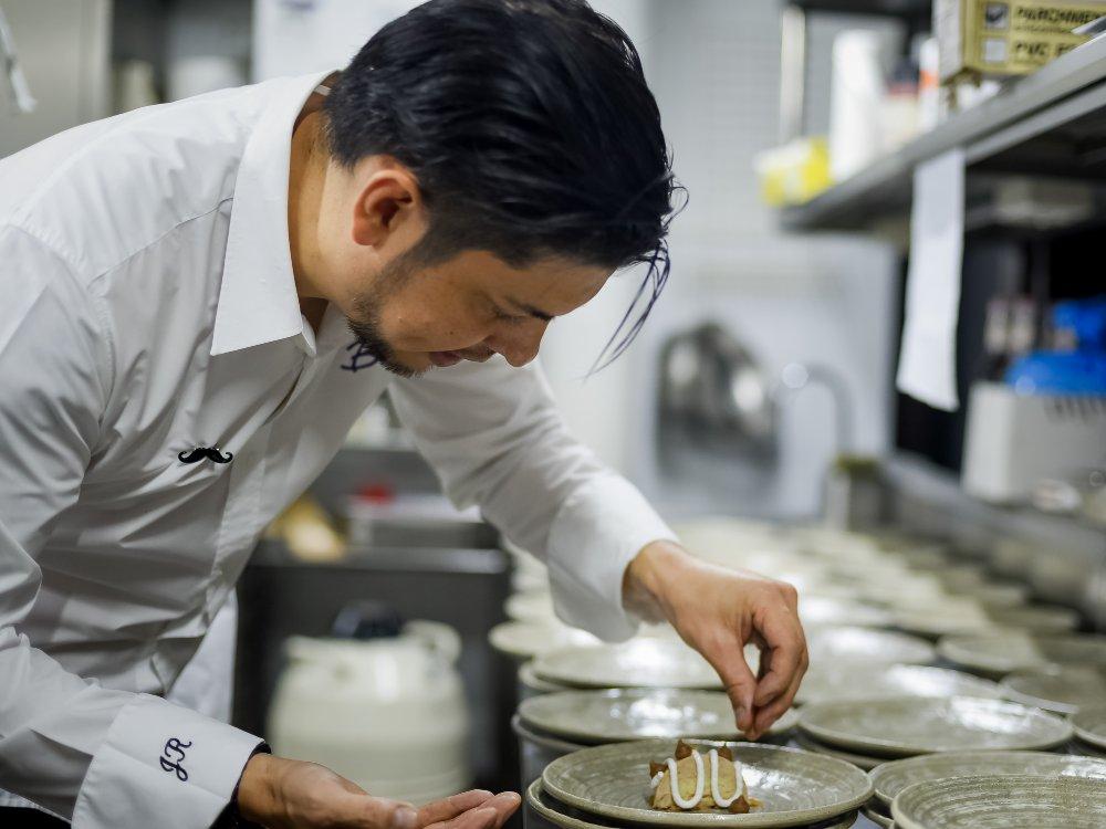 Perrier Jouet Champagne Food Pairing Chef Jeff - 法国 Pierre-Jouët 香槟任米其林一星名厨 Jeff Ramsey 为厨师大使
