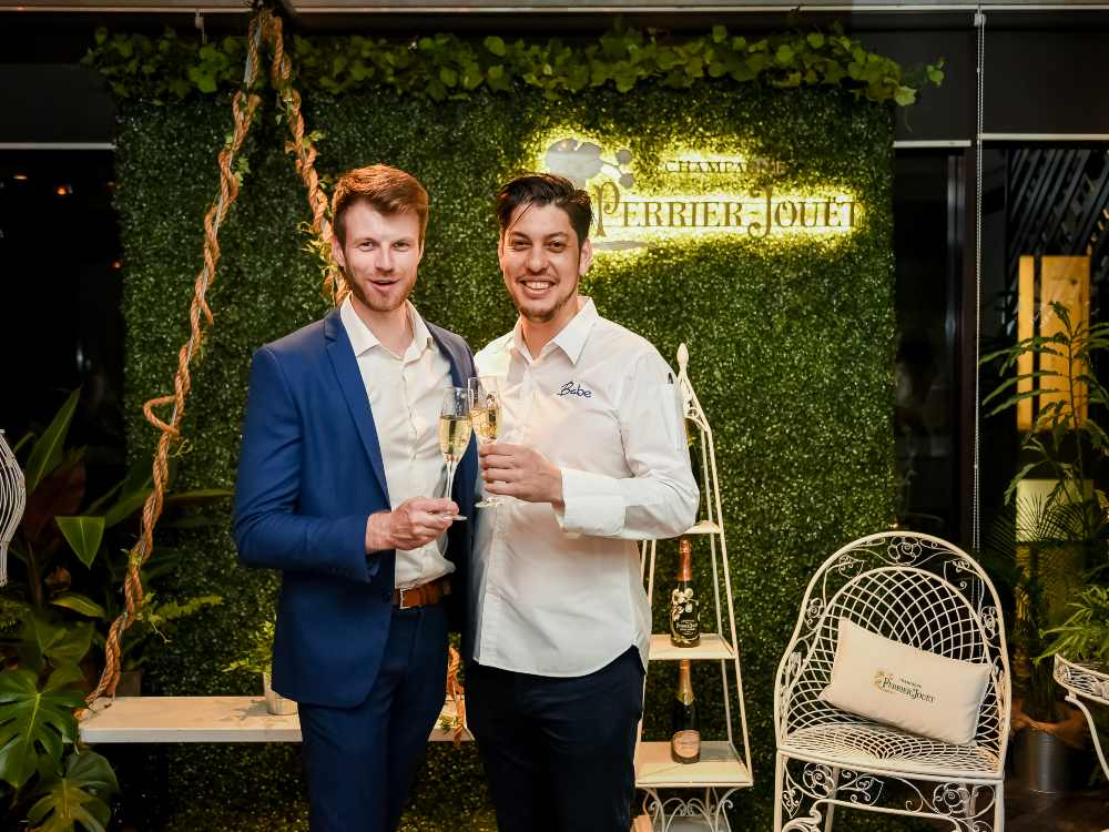 Perrier Jouet Champagne - 法国 Pierre-Jouët 香槟任米其林一星名厨 Jeff Ramsey 为厨师大使