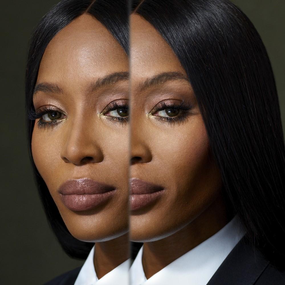 Portrait of Naomi Campbell Burberry Festive Campaign 2018 - Burberry 打造悬疑的英伦圣诞夜