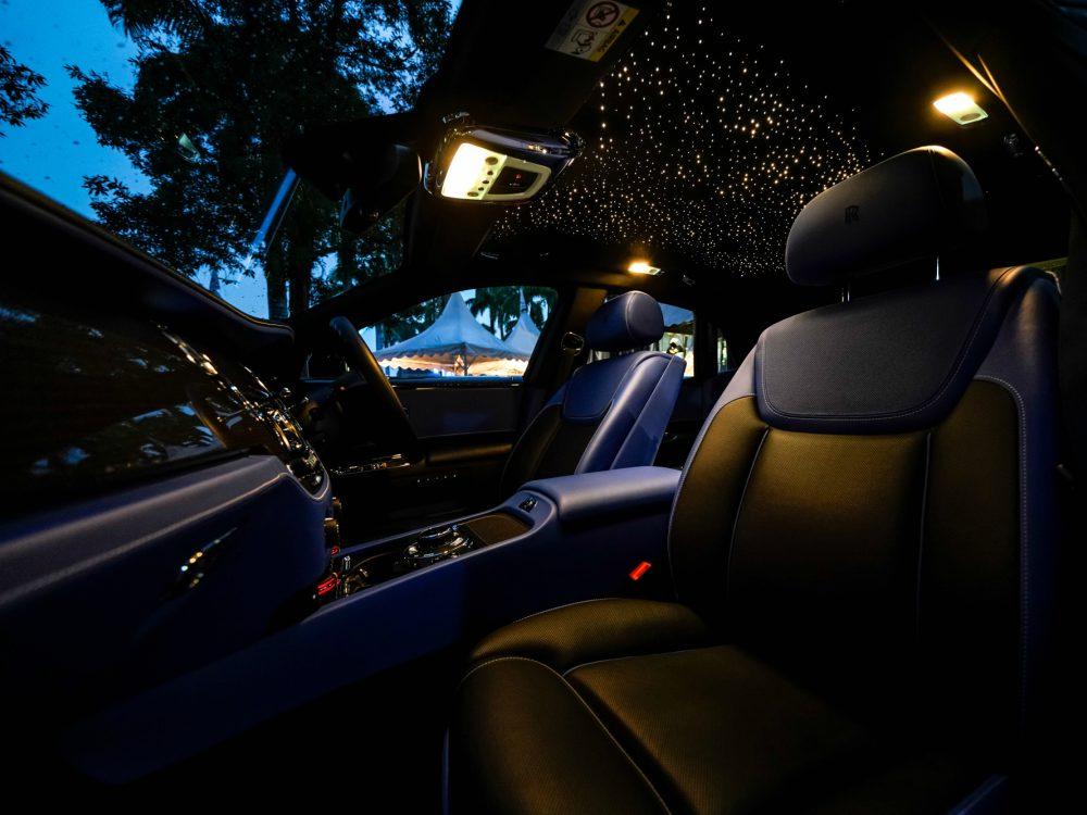 Rolls Royce Black Badge Collection Interior Roof - 魅影三重奏:ROLLS ROYCE BLACK BADGE 首度大马亮相