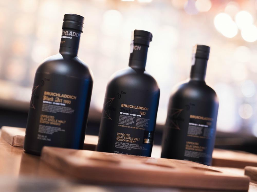 Scotch Whiskey Bruichladdich Black Art Series - Bruichladdich Black Art Edition 06.1:麦芽威士忌的神秘星图