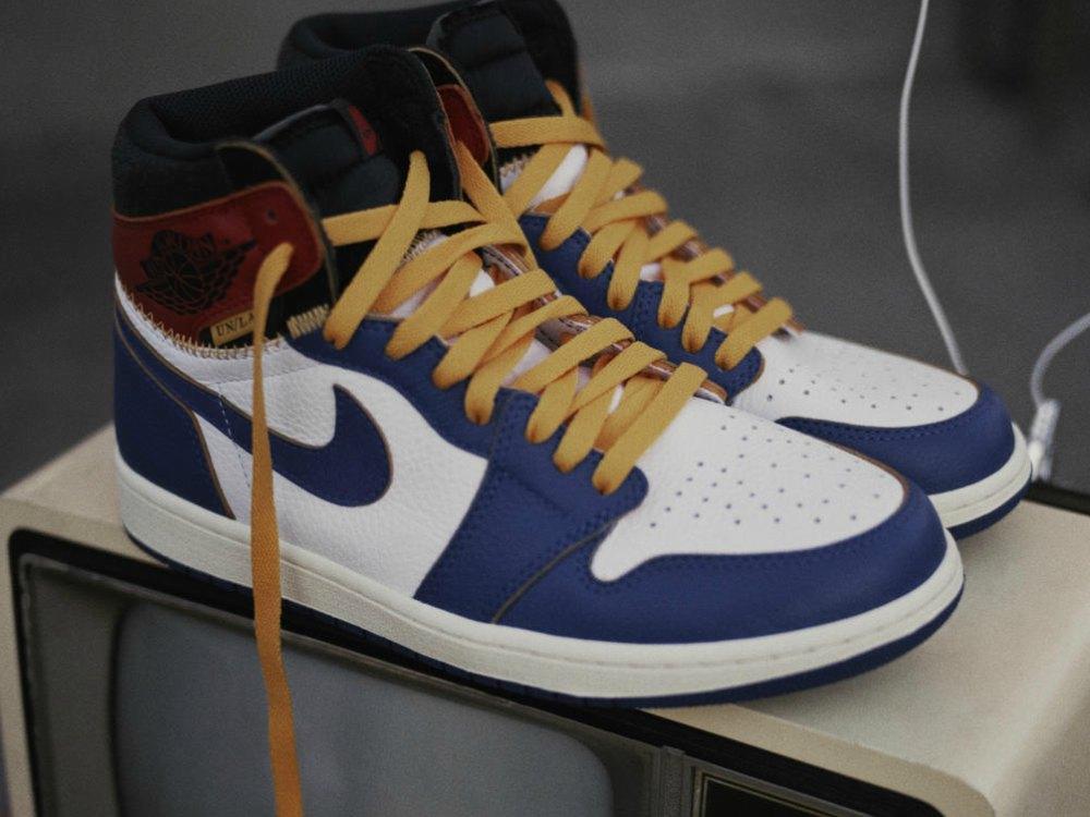 Sneaker Union x Air Jordan - UNION LA x Air Jordan 1:史诗级联名再掀抢购热潮
